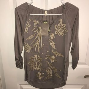 Anthropology blouse NWT